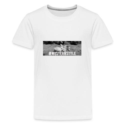 #westernstyle - T-shirt Premium Ado