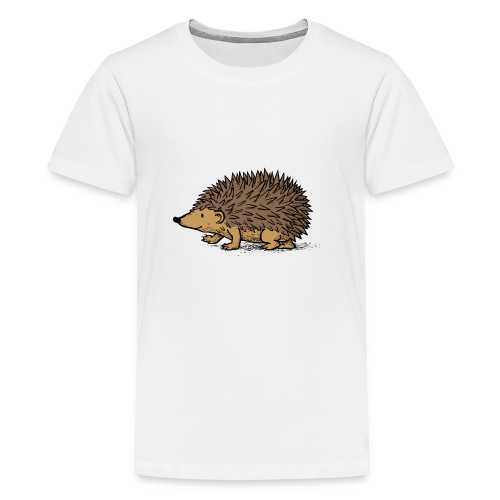 egel illustratie - Teenager Premium T-shirt