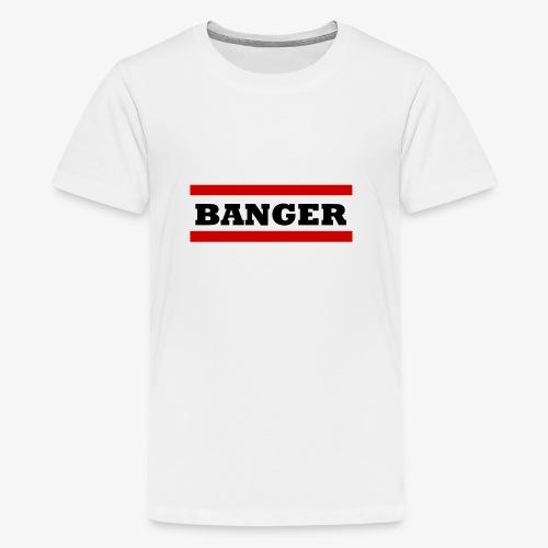 Banger2 png - Teenager Premium T-Shirt