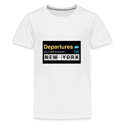 Departures Defnobarre 1 png - Maglietta Premium per ragazzi