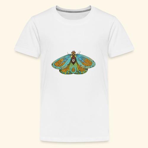 Psychedelic butterfly - Maglietta Premium per ragazzi