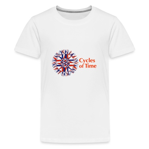 Cycles of Time - Teenage Premium T-Shirt