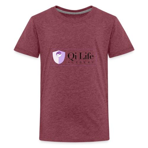 Qi Life Academy Promo Gear - Teenage Premium T-Shirt