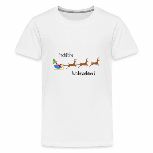 Fröhliche Weihnachten - Teenager Premium T-Shirt