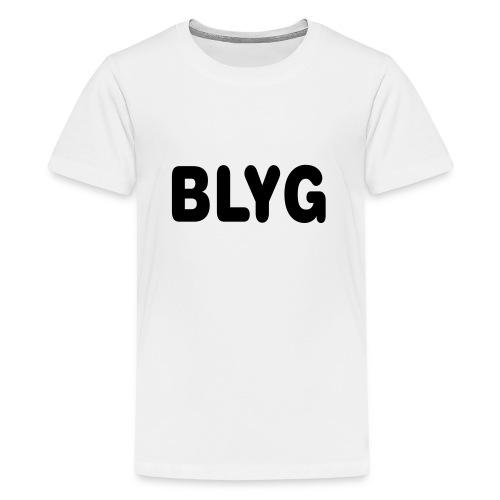 BLYG - Premium-T-shirt tonåring