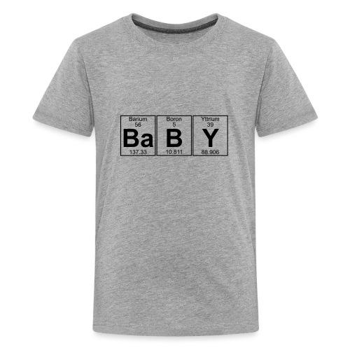 Ba-B-Y (baby) - Full - Teenage Premium T-Shirt