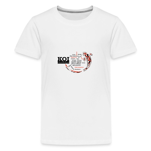 Koi - Teenager Premium T-Shirt