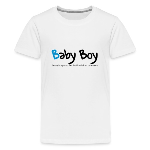 Baby Boy - Teenage Premium T-Shirt