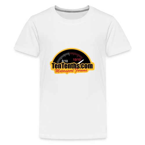 3Colour_Logo - Teenage Premium T-Shirt