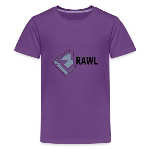 PANDA ONLY LOGO - Teenager Premium T-shirt