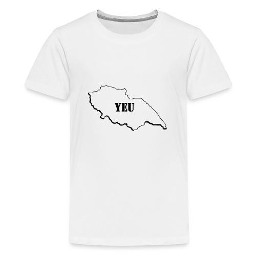 Dessin_de_YEU - T-shirt Premium Ado