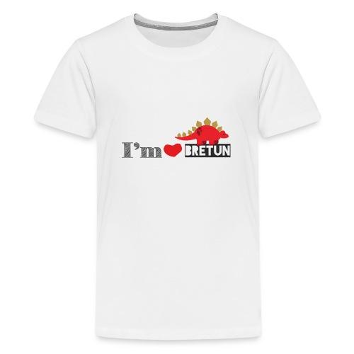 bretun negro - Camiseta premium adolescente