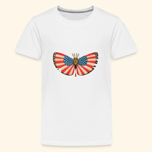 patriot moth - Maglietta Premium per ragazzi