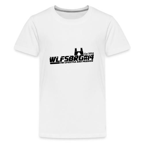 2572283 16164703 wlfsbrg14 2 orig - Teenager Premium T-Shirt
