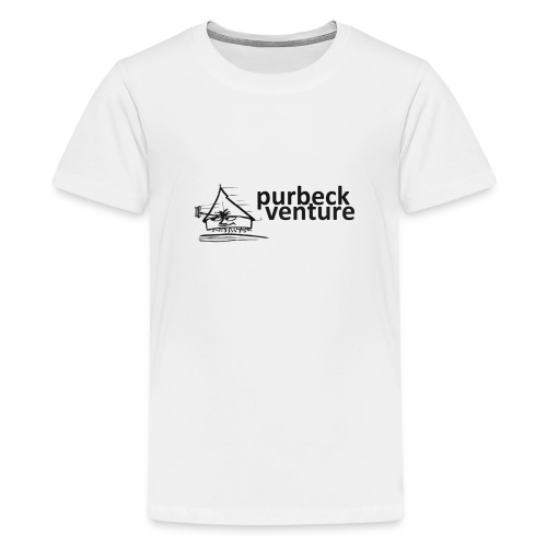 Purbeck Venture Active black - Teenage Premium T-Shirt