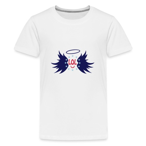 Tablier de cuisine : LOL avec aile ange - Teenage Premium T-Shirt