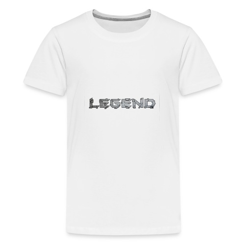 LEGENDtextediting3 - Teenager Premium T-shirt