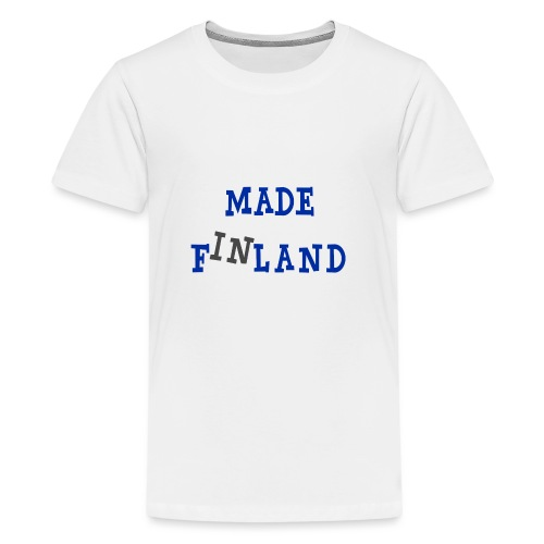 Made in Finland - Teinien premium t-paita