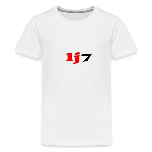 lj7 - Premium-T-shirt tonåring