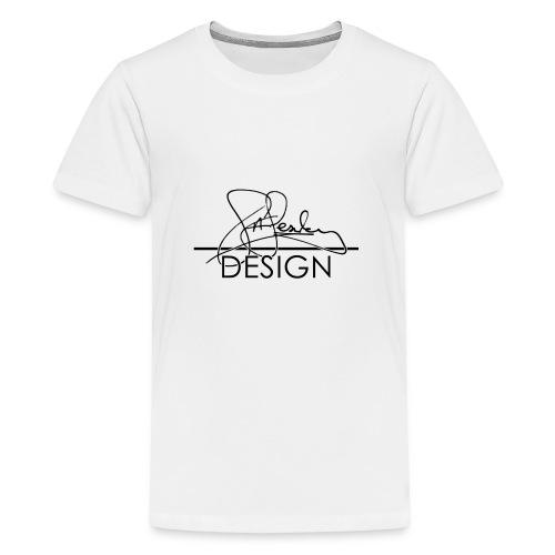 sasealey design logo png - Teenage Premium T-Shirt