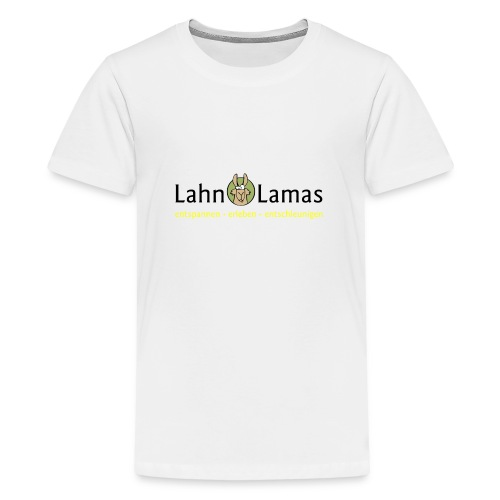Lahn Lamas - Teenager Premium T-Shirt