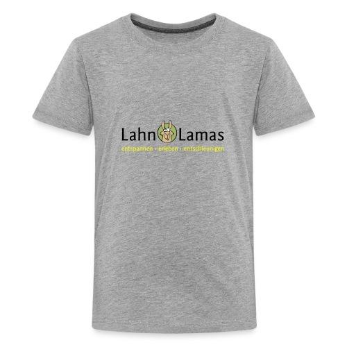 Lahn Lamas - Teenager Premium T-Shirt