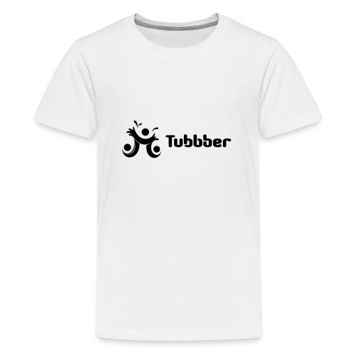 Tubbber B&W - Teenage Premium T-Shirt
