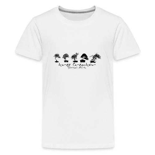 tree creator bonsa art horizon - T-shirt Premium Ado