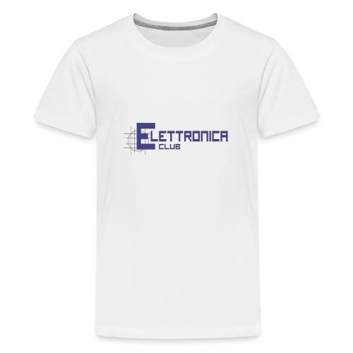 Felpa Elettronica Club - Maglietta Premium per ragazzi