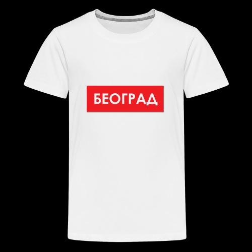 Beograd - Utoka - Teenager Premium T-Shirt