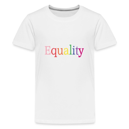 Equality | Regenbogen | LGBT | Proud - Teenager Premium T-Shirt