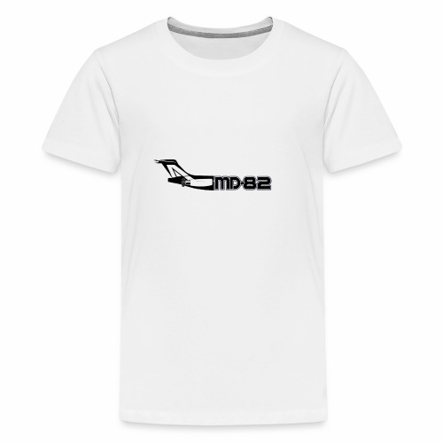 MD82 mit Logo - Teenager Premium T-Shirt