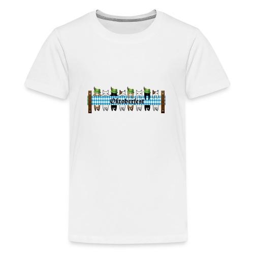 Oktoberfest Katzen - Teenager Premium T-Shirt