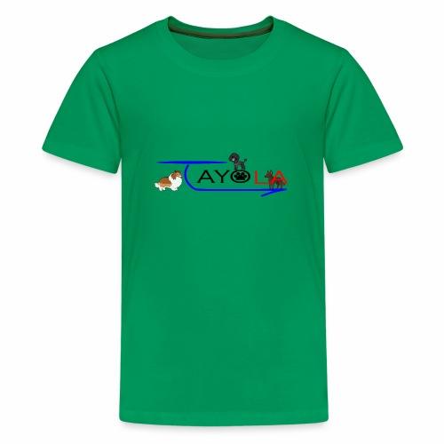 Tayola Black - T-shirt Premium Ado