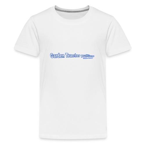 Garden Tractor pulling - Teenager premium T-shirt