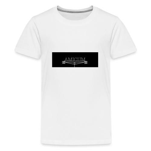 AMICUM GYM - Teenager Premium T-Shirt