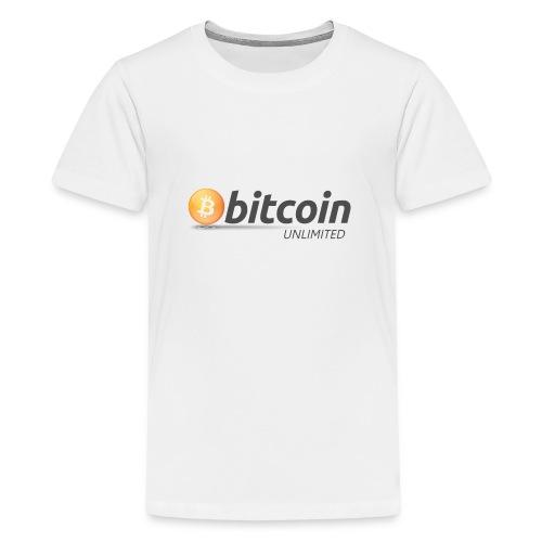 Bitcoin Unlimited - Maglietta Premium per ragazzi