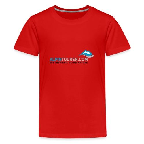 Alpintouren Logo - Teenager Premium T-Shirt