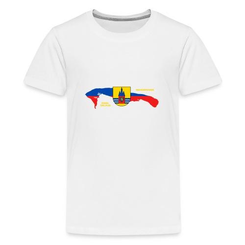 Wangerooge Insel Nordsee Urlaub - Teenager Premium T-Shirt
