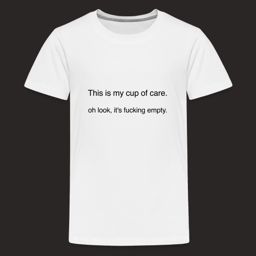 cup of care - Teenager Premium T-Shirt