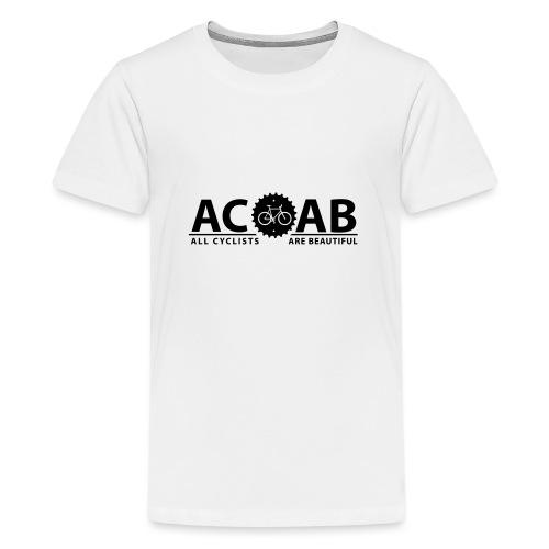 ACAB ALL CYCLISTS - Teenager Premium T-Shirt