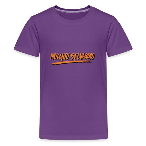 Mucchio Selvaggio 2016 Dirty Orange - Maglietta Premium per ragazzi