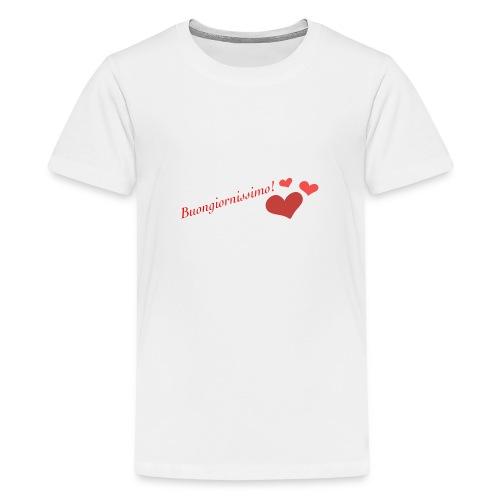 Buongiornissimo! - Maglietta Premium per ragazzi