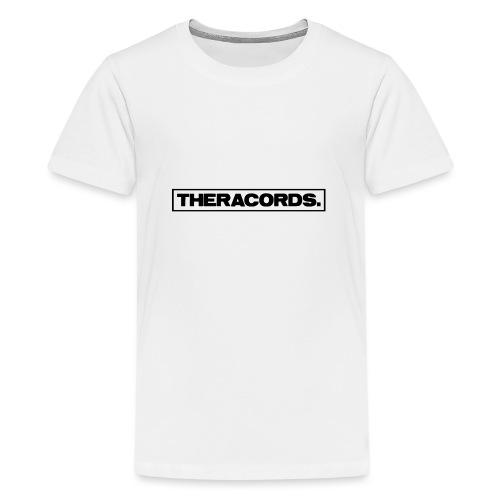 Theracords_logo_black_TP - Teenager Premium T-shirt