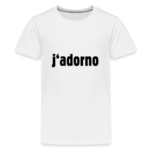 j'adorno - Teenage Premium T-Shirt