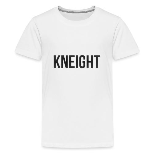 Brand KNEIGHT Logo - Teenager premium T-shirt