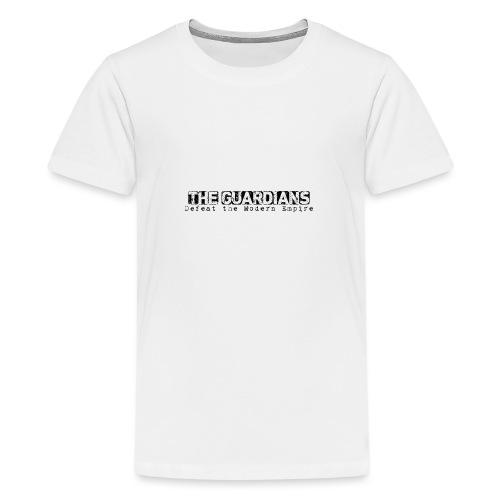 The Guardains Black - Teenage Premium T-Shirt