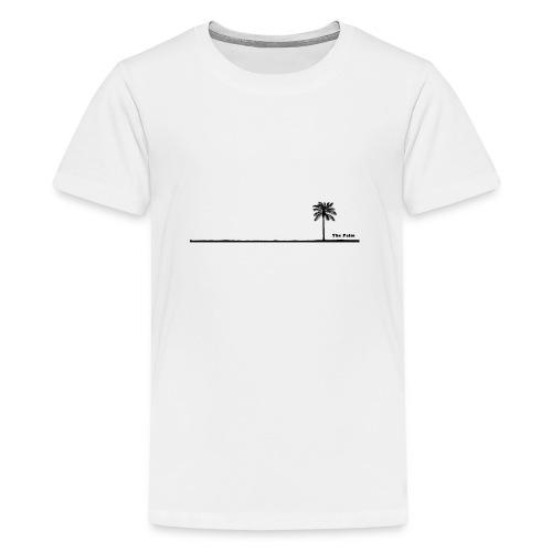 Palm dubai beach black and white - Maglietta Premium per ragazzi