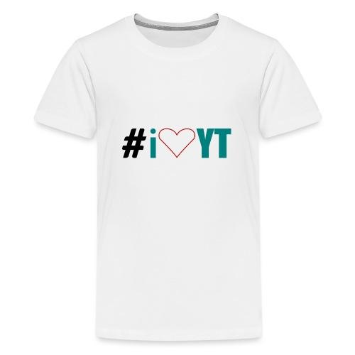 I Love YouTube - Teenager Premium T-Shirt