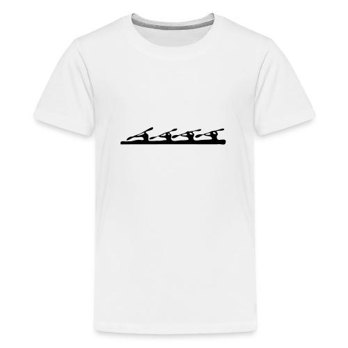 Kayak k4 - Teenage Premium T-Shirt